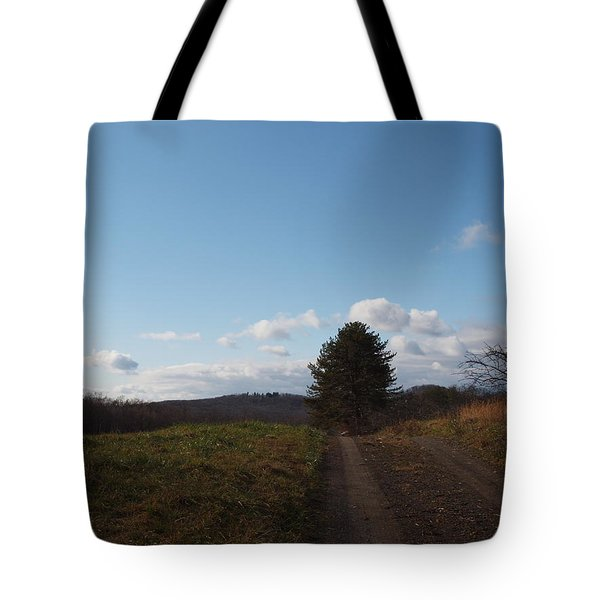 Another Road To Heaven Tote Bag by Robert Margetts