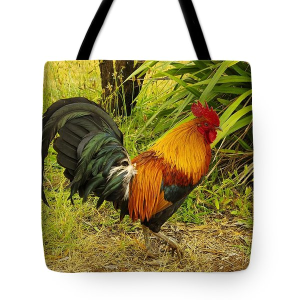 Another Rooster Tote Bag by John  Greaves