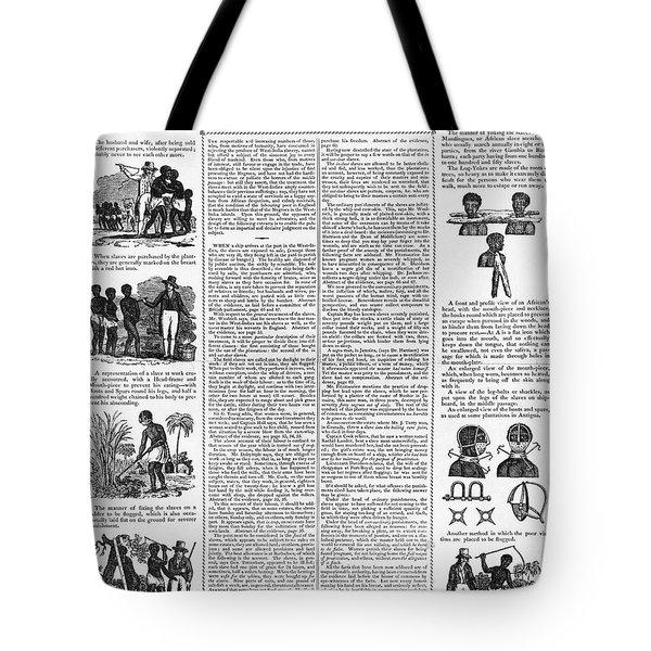 Anti-slavery Broadside Tote Bag by Granger