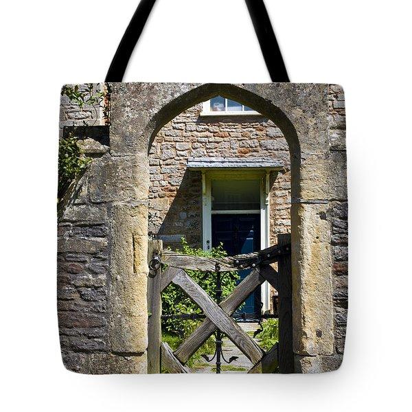 Antique Brick Archway Tote Bag by Heiko Koehrer-Wagner