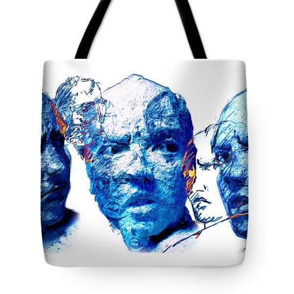 Anxiety and Alternate Universes Tote Bag by Adam Long
