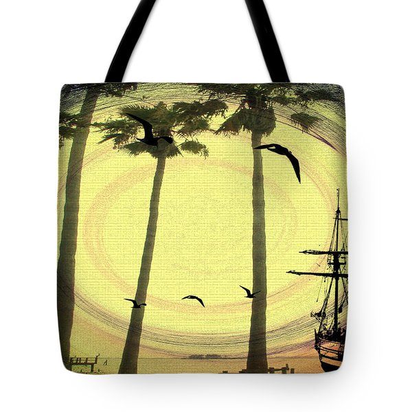 Any Port In A Storm Tote Bag by Bill Cannon