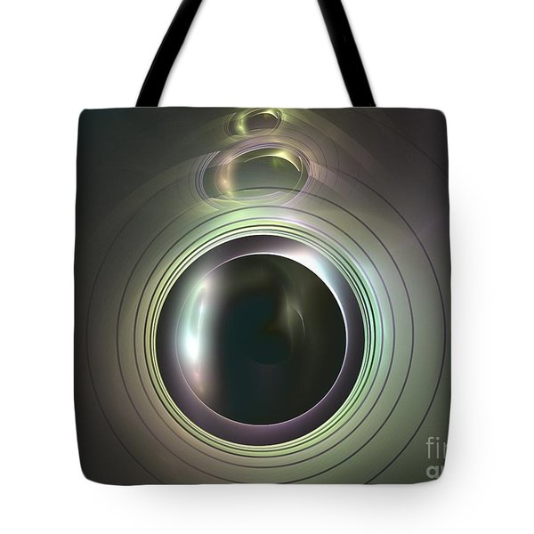 Aperture Tote Bag by Kim Sy Ok