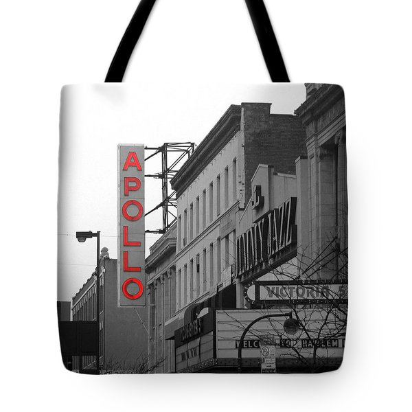 Apollo Theater In Harlem New York No.1 Tote Bag by Ms Judi