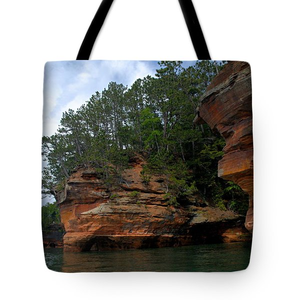Apostle Islands National Lakeshore Tote Bag by Larry Ricker