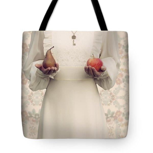 Apple And Pear Tote Bag by Joana Kruse