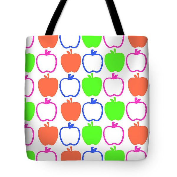 Apples Tote Bag by Louisa Knight