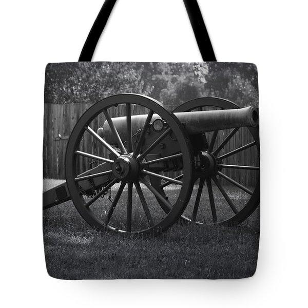 Appomattox Cannon Tote Bag by Teresa Mucha