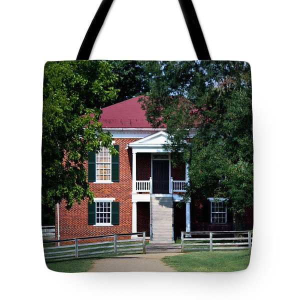 Appomattox County Court House 1 Tote Bag by Teresa Mucha