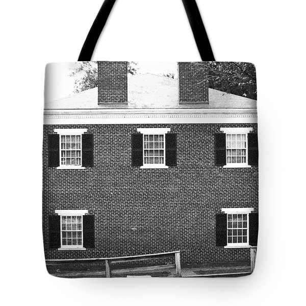 Appomattox Courthouse Tote Bag by Teresa Mucha