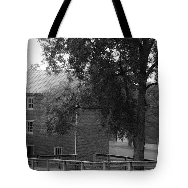 Appomatttox County Jail Virginia Tote Bag by Teresa Mucha