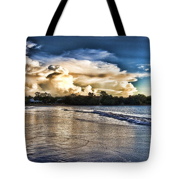 Approaching Storm Clouds Tote Bag by Douglas Barnard