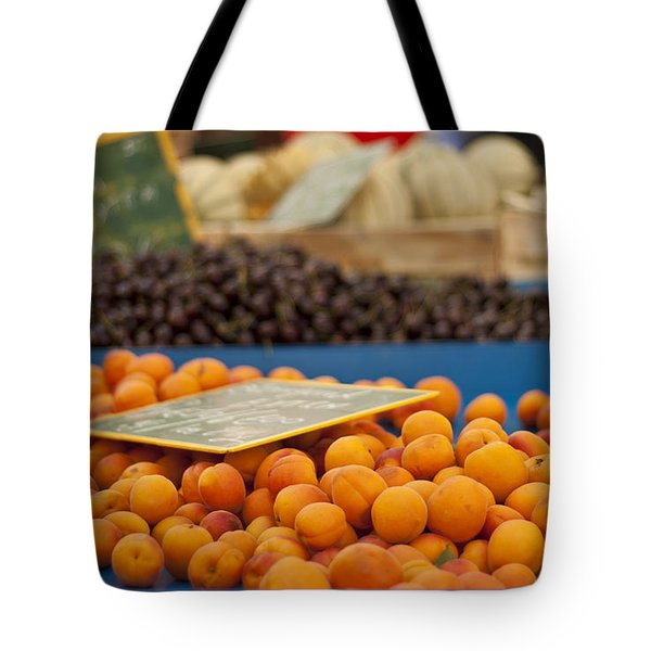 Apricot Season Tote Bag by Nomad Art And  Design