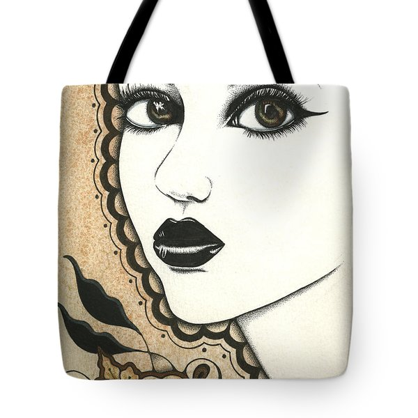 Arabel Tote Bag by Nora Blansett