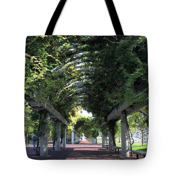 Arbor In Boston Tote Bag by Kristin Elmquist