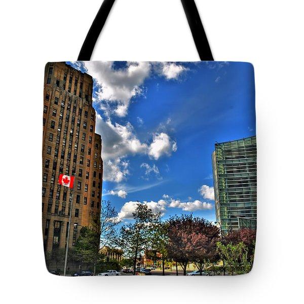 Architectural Dynamics  Tote Bag by Michael Frank Jr