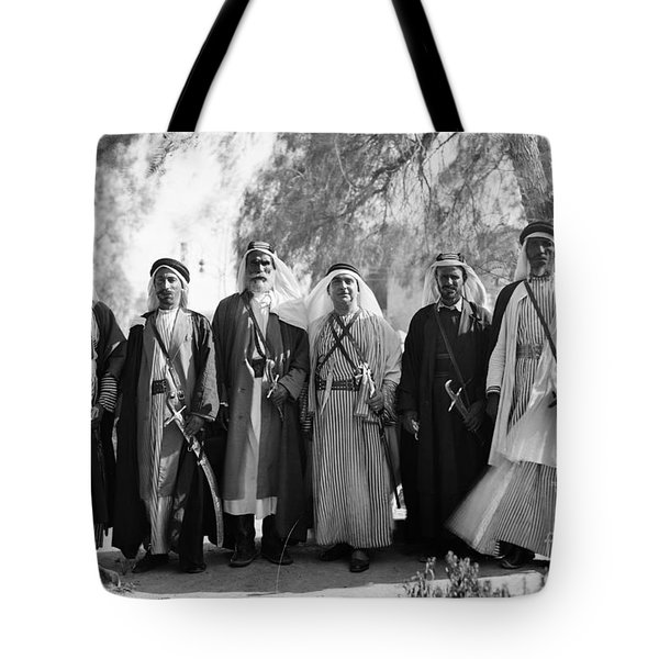 Aref Al-aref (1892-1973) Tote Bag by Granger