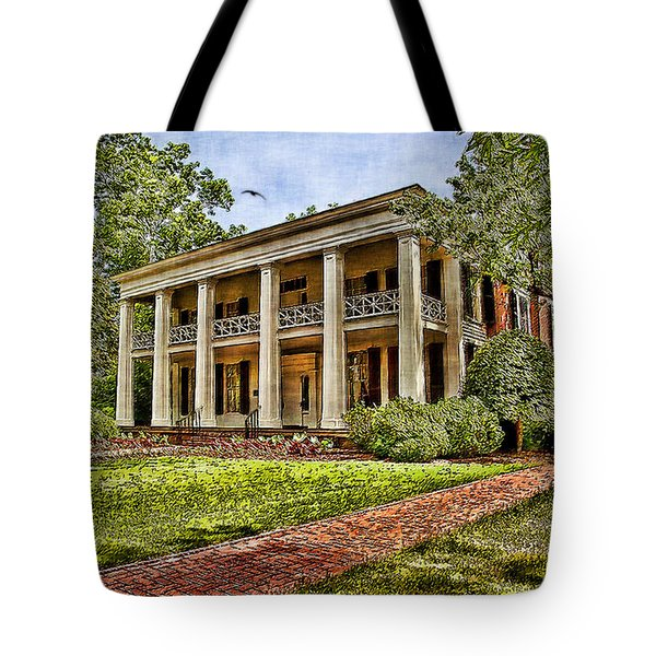 Arlington House Tote Bag by Lianne Schneider
