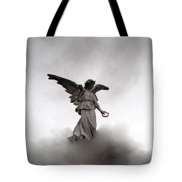Armless Angel Tote Bag by Doug  Duffey