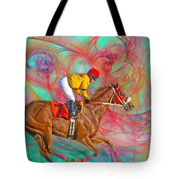 Around Us Tote Bag by Betsy Knapp