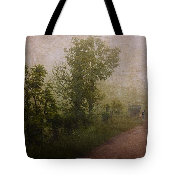 Arriving Home Tote Bag by Ron Jones