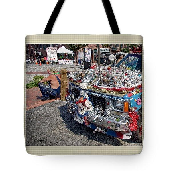 Art Car Tote Bag by Brian Wallace