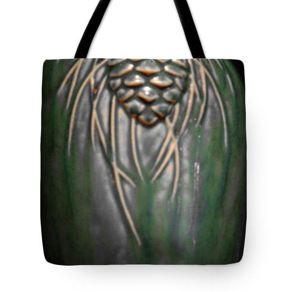 Artistic Pine Cone Vase Tote Bag by LeeAnn McLaneGoetz McLaneGoetzStudioLLCcom