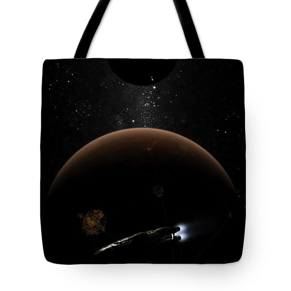 Artists Concept Illustrating The Laws Tote Bag by Brian Christensen