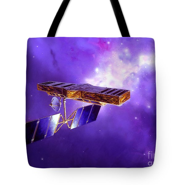 Artists Concept Of Space Interferometry Tote Bag by Stocktrek Images