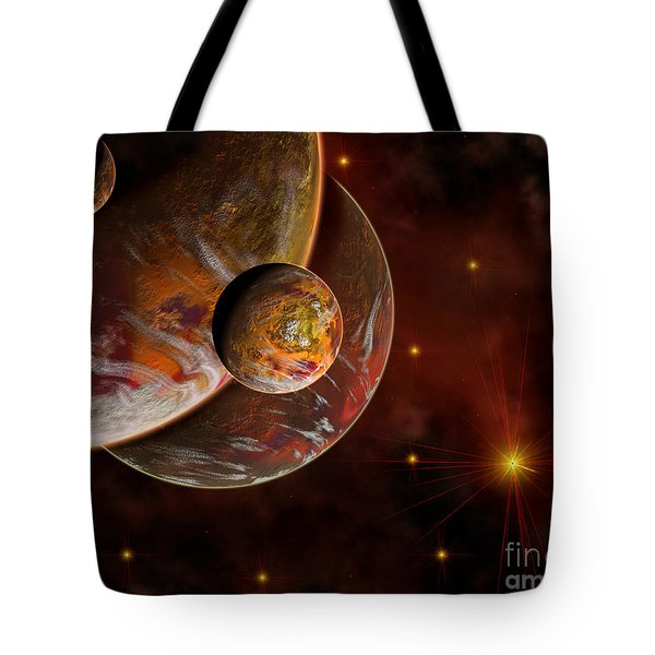 Artists Concept Of The Birth Place Tote Bag by Mark Stevenson