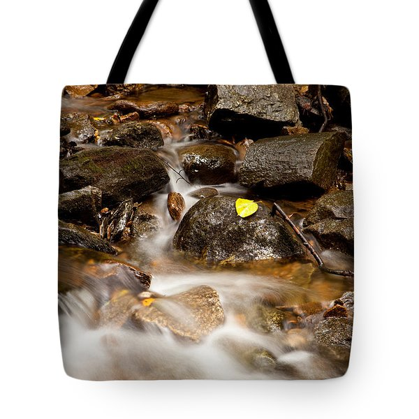 As It Runs Tote Bag by Karol Livote