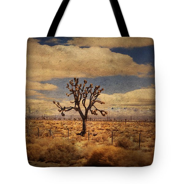 As We Go Down Life's Lonesome Highway Tote Bag by Laurie Search