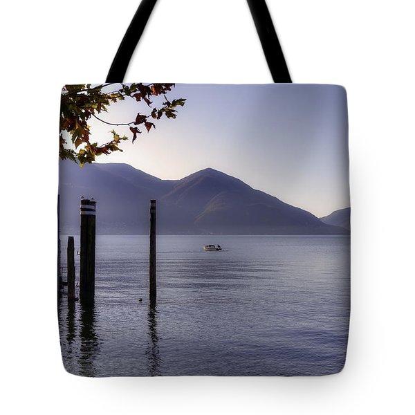 Ascona - Lago Maggiore Tote Bag by Joana Kruse