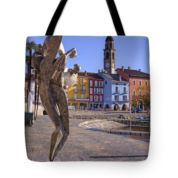 Ascona - Switzerland Tote Bag by Joana Kruse