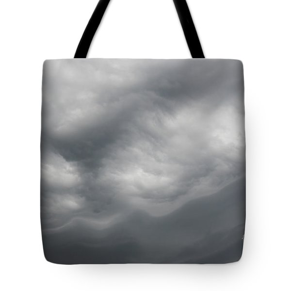Asperatus - Sky Before Storm Tote Bag by Michal Boubin