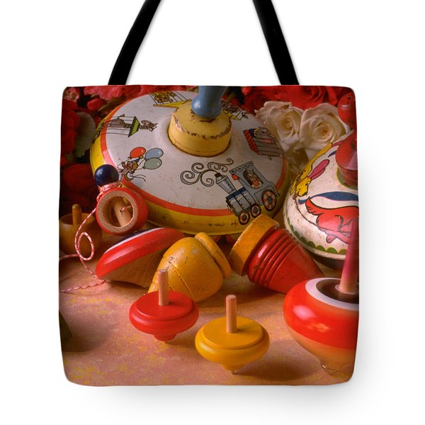 Assorted Tops Tote Bag by Garry Gay