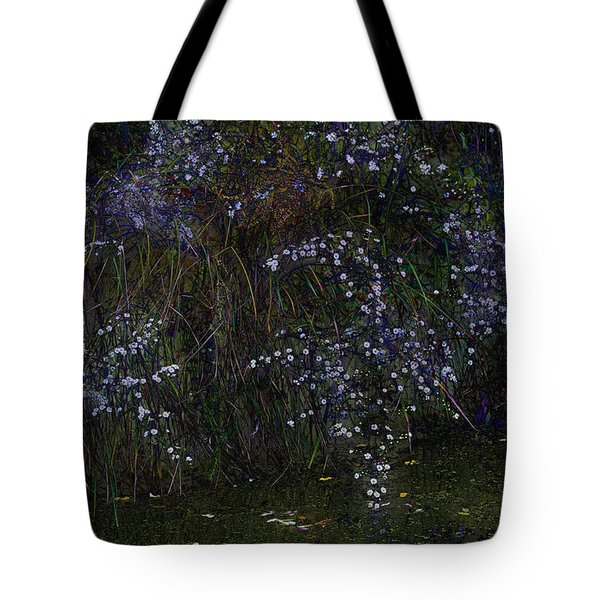 Aster Days Tote Bag by Ron Jones