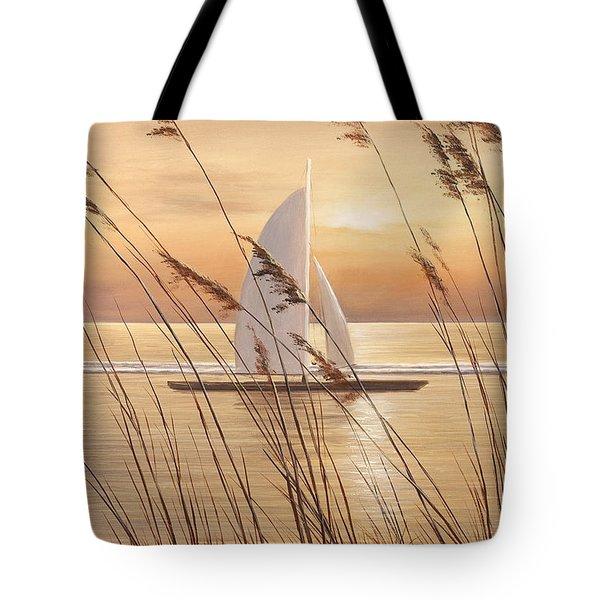 AT LAST Tote Bag by Diane Romanello