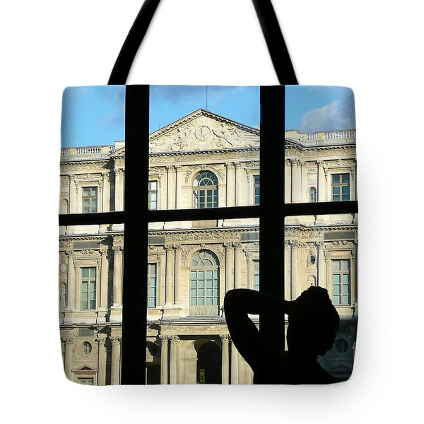At The Louvre Tote Bag by Bob and Nancy Kendrick
