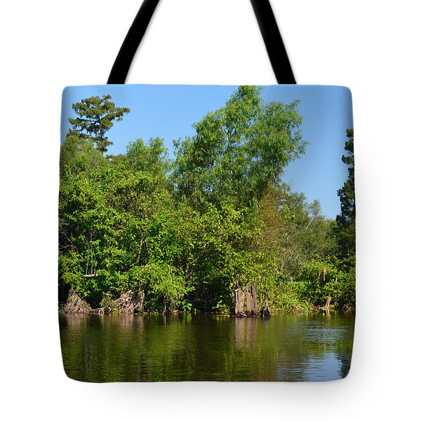 Atchafalaya Basin 46 Tote Bag by Maggy Marsh