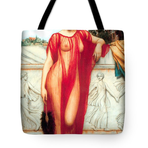 Athenais Tote Bag by Sumit Mehndiratta