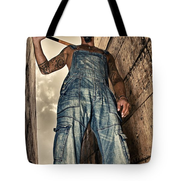 attitude Tote Bag by Stylianos Kleanthous