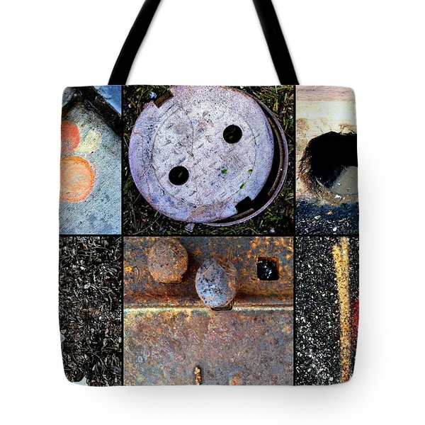 AU PAIR Tote Bag by Marlene Burns