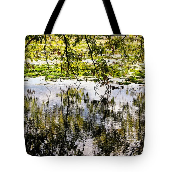 August Reflections Tote Bag by Rachel Cohen