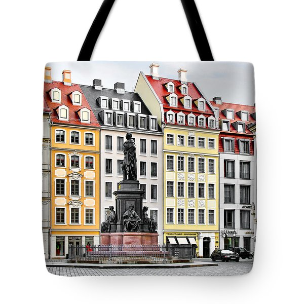 Augustus II the Strong -  A legend lives on in Dresden Tote Bag by Christine Till