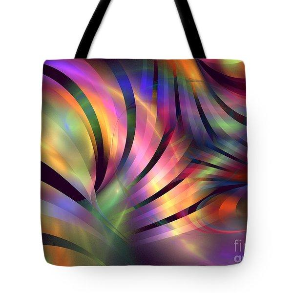 Aurora Borealis Tote Bag by Kim Sy Ok