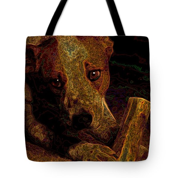 Australian Cattle Dog Tote Bag by One Rude Dawg Orcutt