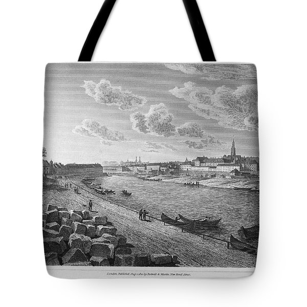Austria: Vienna, 1821 Tote Bag by Granger