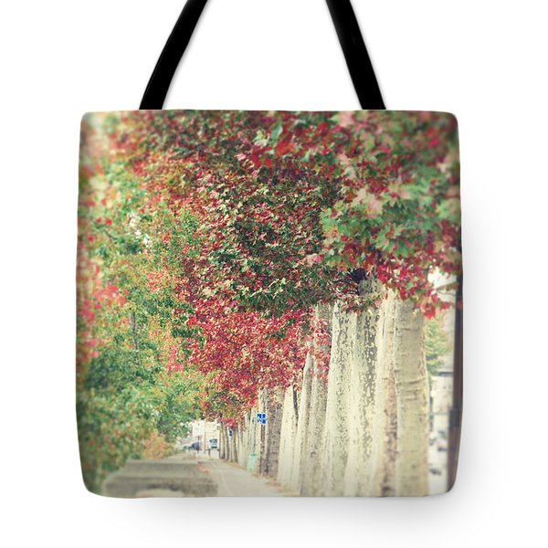 Autumn And Fall Tote Bag by Ivy Ho