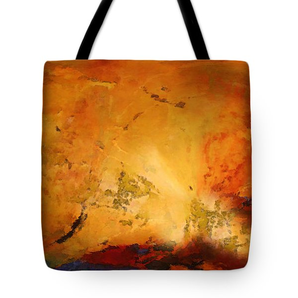 Autumn Canvas Tote Bag by Carol Cavalaris